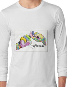 The Sign Language of FRIENDS Long Sleeve T-Shirt