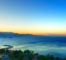 Eilat Sunrise by Roland Pozo