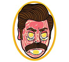 Ron Swanson by finsterandco