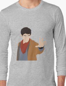 BBC Merlin Silhouette Long Sleeve T-Shirt