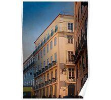 Chiado Lisbon Poster
