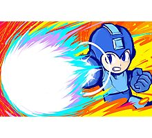 Mega Man | Charge Shot Photographic Print