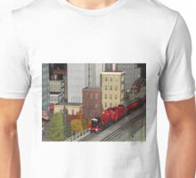 Model Trains, Model Buildings, Model Cars, New York Transit Museum Annex Holiday Train Show, Grand Central Terminal, New York City Unisex T-Shirt