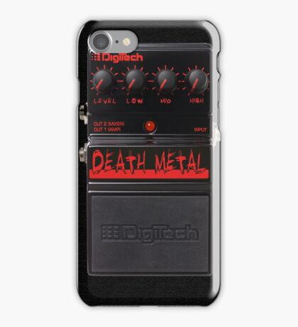 Death Metal iPhone Case iPhone Case/Skin