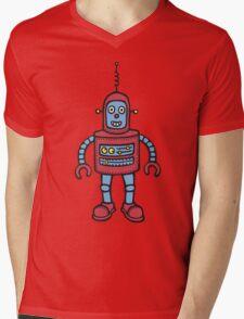 Baby Robot Mens V-Neck T-Shirt