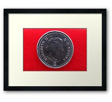 Roll Out the Red Carpet for the Queen Framed Print