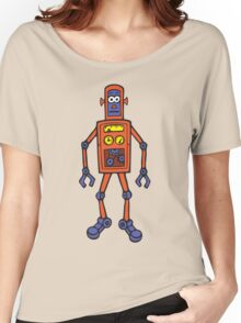 Retro Robot Women's Relaxed Fit T-Shirt