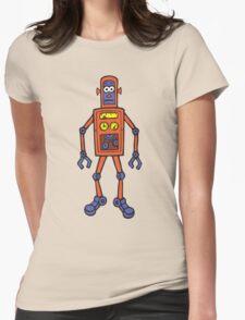 Retro Robot Womens T-Shirt