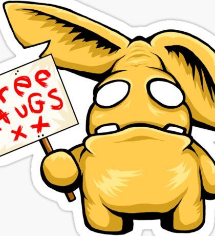 Free Hugs Sticker