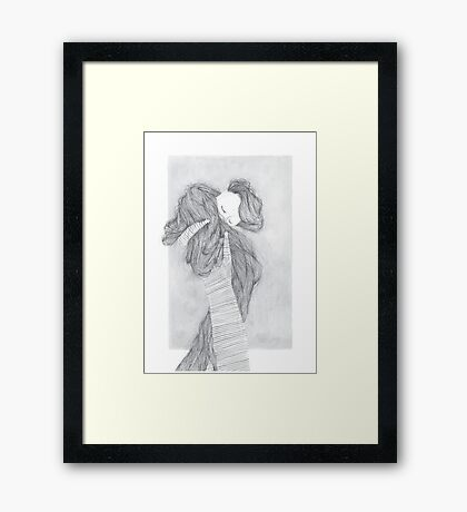 Abraça Framed Print