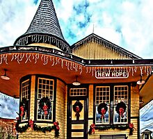 Christmas at New Hope Station by djphoto