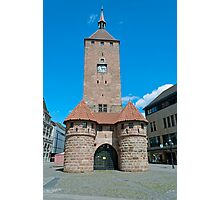 White tower in Nuremberg, Germany Photographic Print
