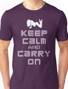 Night Club: Keep Calm And Carry On Unisex T-Shirt