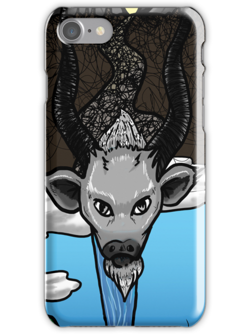 Ghot Iphone/Ipod Case by Kevin Byers