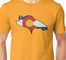 Colorado Flag Design  Unisex T-Shirt