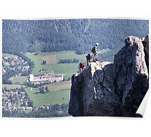 Climbing Katrin Poster