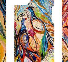 "iPhone case 3 based on my original artwork ""Butterfly on wind"" by Elena Kotliarker"