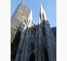 St. Patricks Cathedral and Reflection, 5th Avenue, New York City Classic T-Shirt