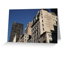 Looking North on 5th Avenue, New York City Greeting Card