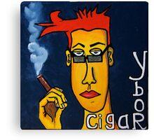 Ybor and Cigars Canvas Print