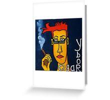 Ybor and Cigars Greeting Card