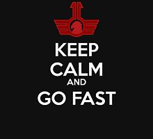 Keep Calm and Go Fast - Blood Eagle Unisex T-Shirt