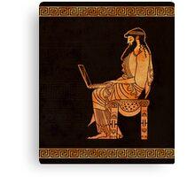 Ancient Greek Businessman Canvas Print