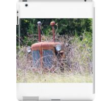 Tractor In The Weeds iPad Case/Skin