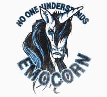 No one understands Emocorn T-Shirt