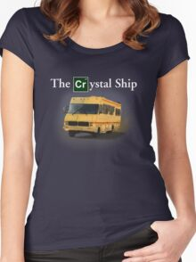 The Crystal Ship (inspired by Breaking Bad) Women's Fitted Scoop T-Shirt