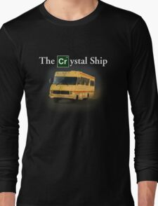 The Crystal Ship (inspired by Breaking Bad) Long Sleeve T-Shirt