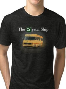 The Crystal Ship (inspired by Breaking Bad) Tri-blend T-Shirt