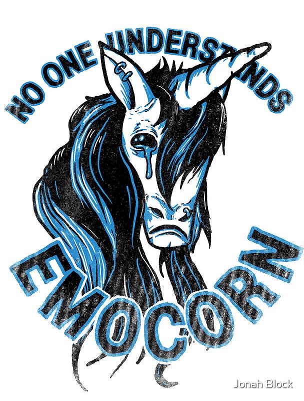 No one understands Emocorn by Jonah Block