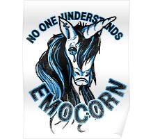 No one understands Emocorn Poster