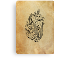 Harry Potter Lives on in our Hearts (no words) Canvas Print