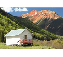 Red Mountain Photographic Print
