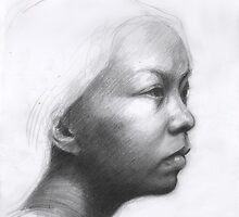 Portrait of a Chinese woman by Daniel Rodgers