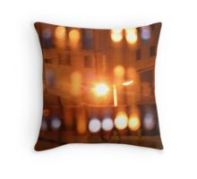 white night Throw Pillow