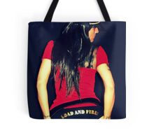 RED MILITARY Tote Bag
