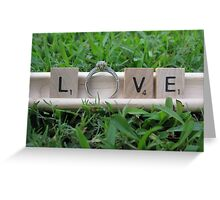 Engagment Greeting Card