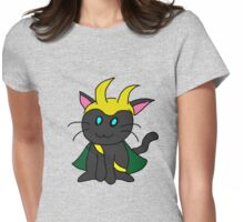 Loki Kitty Womens Fitted T-Shirt
