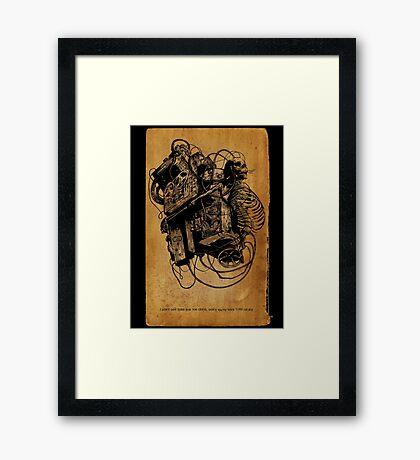 Gospel Machine #1 Framed Print