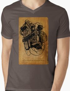 Gospel Machine #1 Mens V-Neck T-Shirt