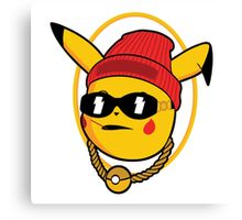 Thugachu - Pikachu Canvas Print