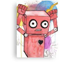 Robot Rock Canvas Print