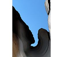 The Ancient Face of the Goddess of Rocks, Tent Rocks New Mexico Photographic Print