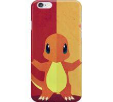Pokemon - Charmander #004 iPhone Case/Skin