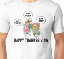 Very Funny Thanksgiving T-Shirt Unisex T-Shirt