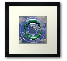A Different Kind Of Life Saver Framed Print