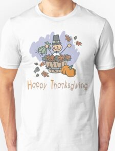 Happy Thanksgiving T-Shirt Unisex T-Shirt